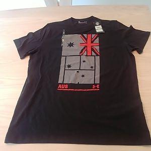 UA t-shirt loose heat gear